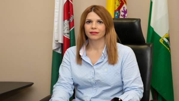 La alcaldesa de Huércal de Almería, Ángeles Castillo (PSOE)