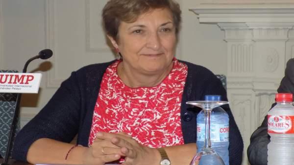 Luisa Real en la UIMP