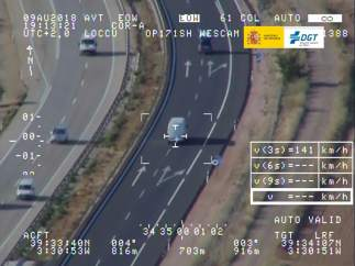 Campaña vigilancia furgonetas de la DGT