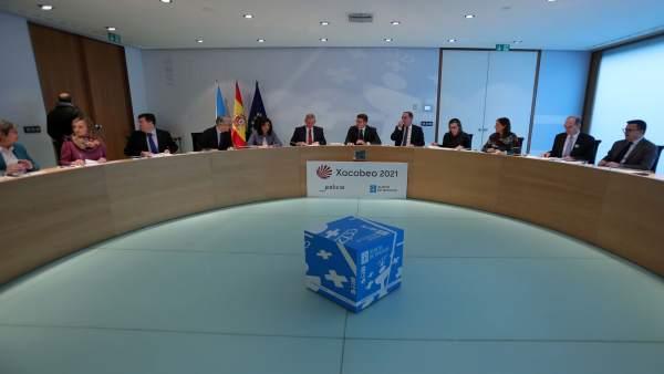 Consello de la Xunta del 13 de diciembre.