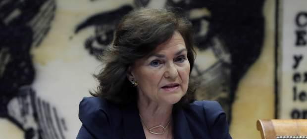 Calvo afirma que las víctimas de delitos sexuales