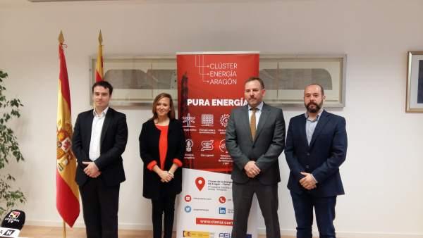 Departamento de Educación de Aragón y Clúster de la Energía colaboran