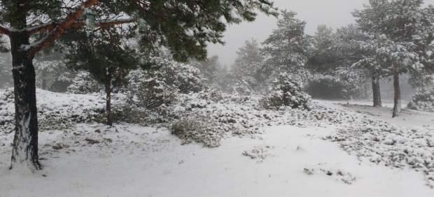 Nieve en la Puebla de San Miguel