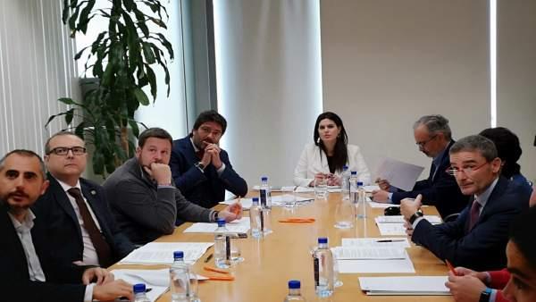Reunión Guardiola con Fundación Camino de la Cruz