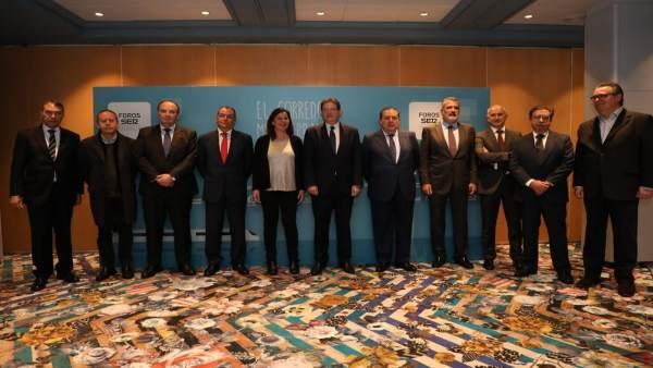 Puig i Armengol posen en valor el Corredor Mediterrani i aposten per la descentralització d'infraestructures