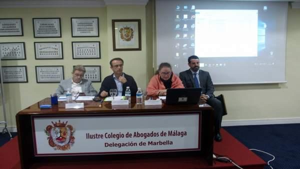 Jornada colegio de abogados en Marbella