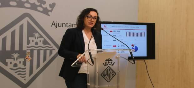 El paro interanual en Palma bajó en noviembre un 5,83% y las afiliaciones aumentaron un 2,5%