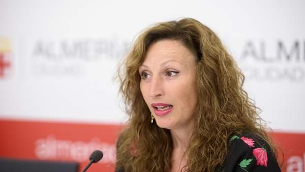 La concejal de Economía y Hacienda de Almería, María Vázquez (PP)