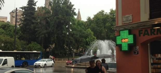 El aviso amarillo por lluvia afectará a Baleares este viernes