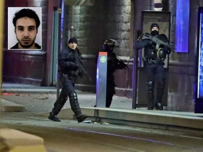 Abatido el terrorista de Estrasburgo
