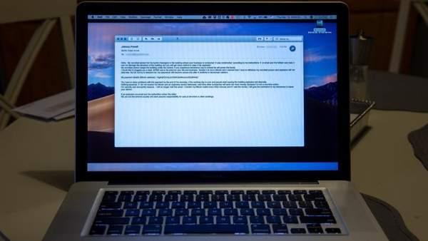 Amenazas de bomba por correo electrónico
