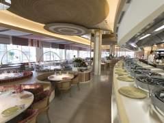 Interior del restaurante Mana 75º.