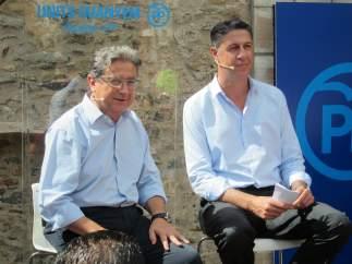 Xavier Garcia Albiol y Enric Millo.