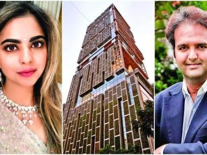 Boda de la hija del hombre más rico de India