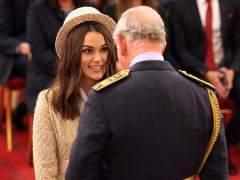Keira Knightley recibe la Orden del Imperio Británico