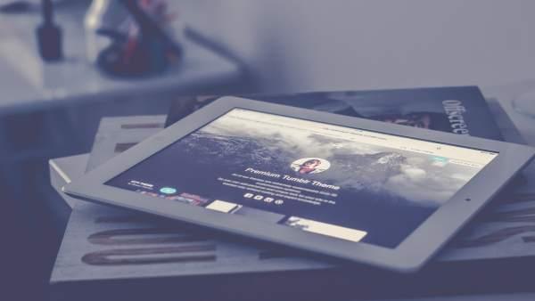 Tumblr en un iPad