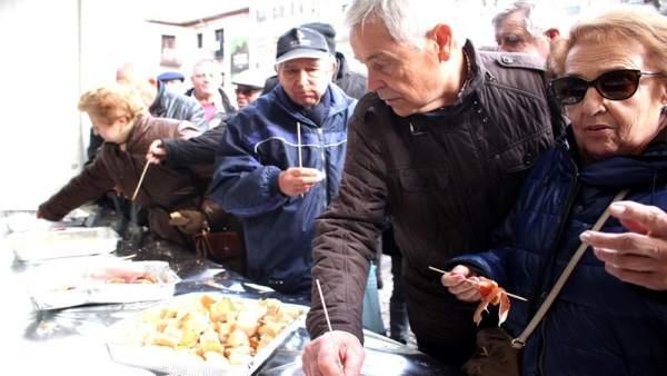 Degustación organizada por Asaja.