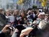 Concentración de periodistas frente al Tribunal Supremo