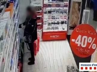 Imagen de uno de los robos en Les (Lleida)