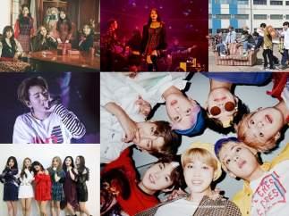 Grupos más populares del K-Pop actual