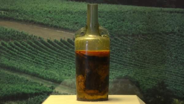 La botella de vino más antigua del mundo