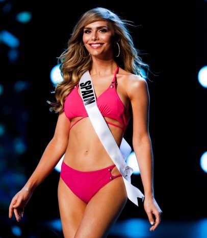 Ángela Ponce en Miss Universo 2018