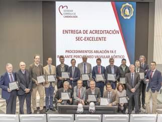 ENTREGA ACREDITACIÓN 'SEC EXCELENTE'