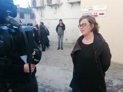 La exconcejal de la CUP-Capgirem en el Ayuntamiento de Barcelona Eulàlia Reguant.