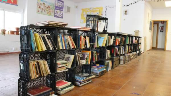Imagen de la Biblioteca de Las Palomas autogestionada por los vecinos