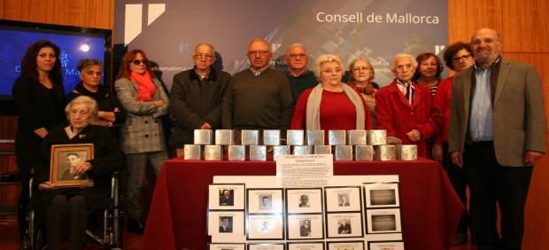 El sábado empiezan a instalarse las piedras 'Stolpersteine' en Mallorca que homenajearán a las ...