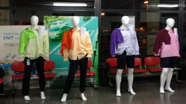 Colores de los nuevos uniformes