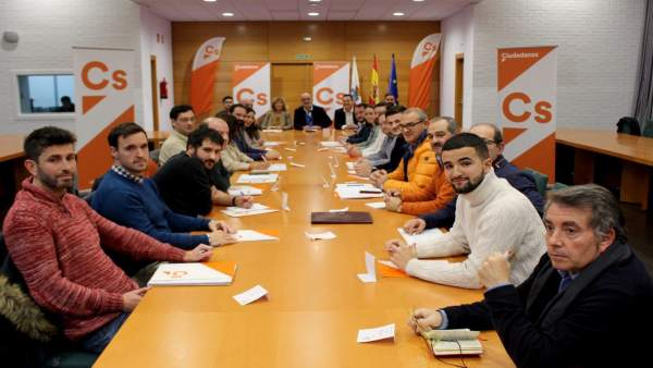 Reunión del comité autonómico de Cs