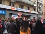 Huelga de trabajadores de supermercados