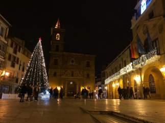 Decoración navideña en Oviedo, Luces de Navidad