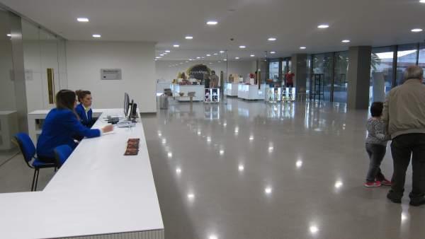 Entrada del Museo Íbero de Jaén.
