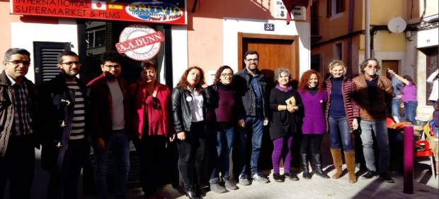 Palma inaugura una placa conmemorativa del 8 de marzo, el Día Internacional de la Mujer