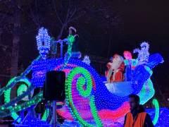 Valladolid.- Papa Noel en la 'Cabalgaza' 15-12-18