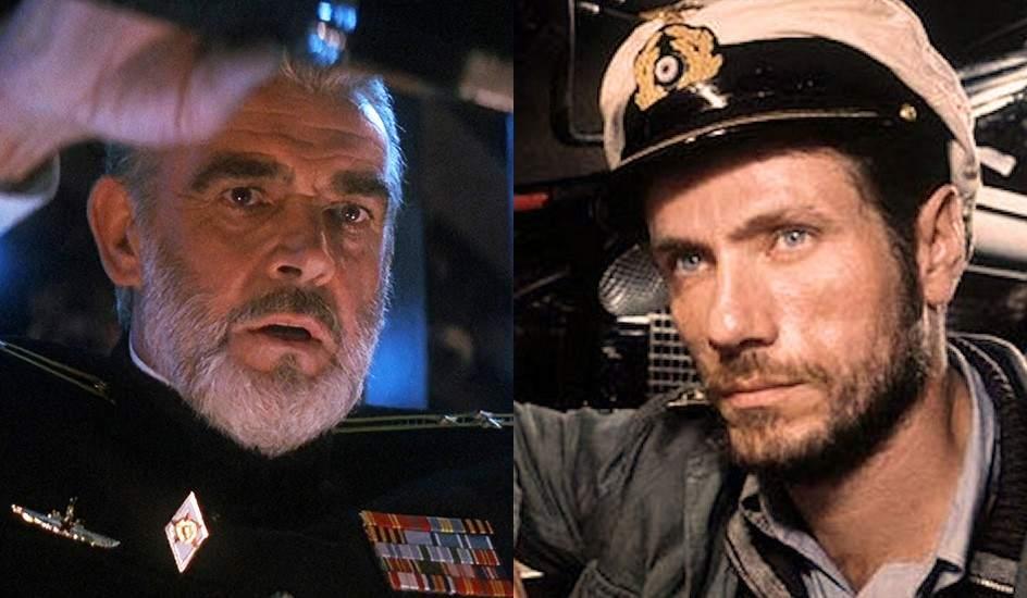 La caza del Octubre Rojo y El submarino