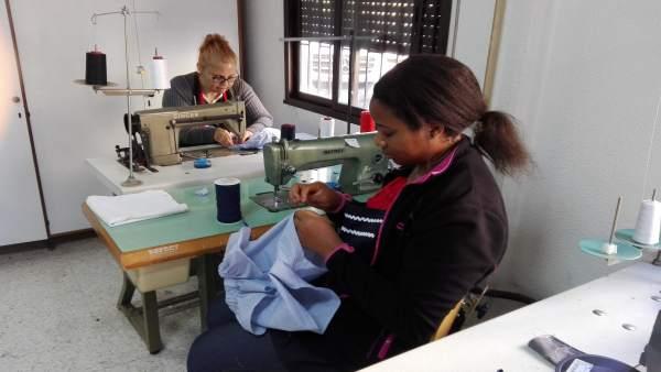 Taller de confección textil