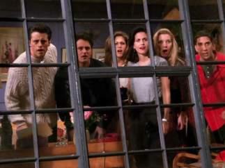 Estuvo a punto de salir en 'Friends' (1994-2004)