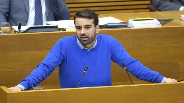 El diputado socialista José Muñoz