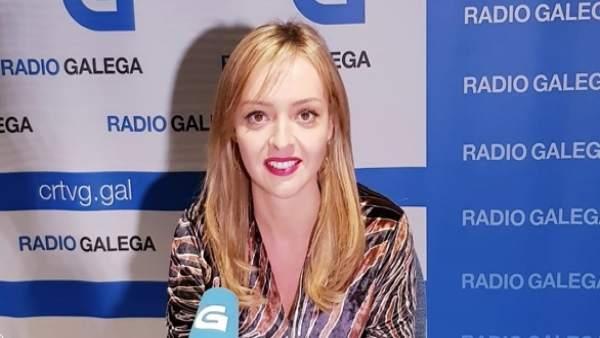 La conselleira de Política Social, Fabiola García, en una entrevista