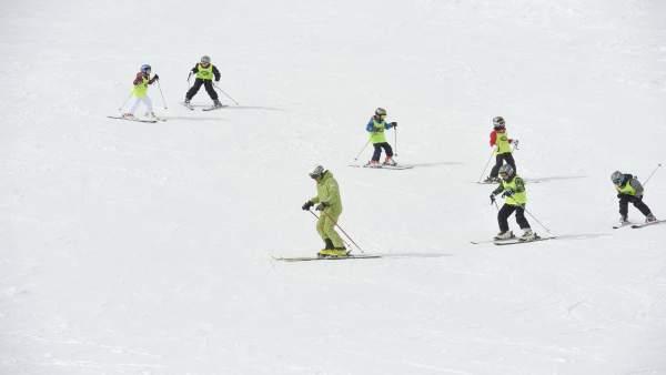 Campaña de esquí de la Diputación de Huesca