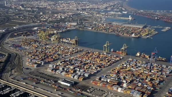 Contenedores del Puerto de València