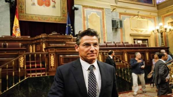 Luis Salvador en el Congres