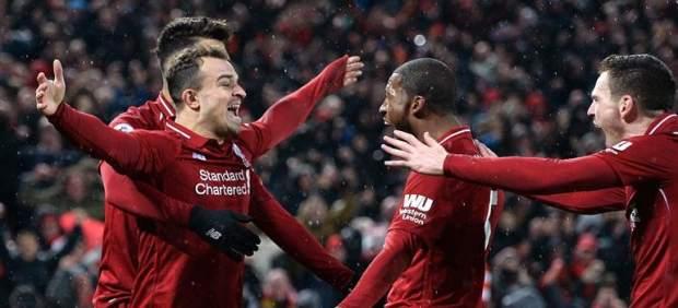 Mucho Klopp para poco Mourinho: el Liverpool pasa por encima del Manchester United