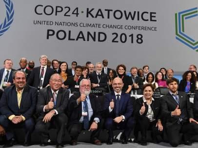 Final de la cumbre del clima de Katowice, Polonia