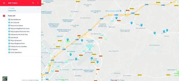Marratxí recibirá una subvención de 15.000 euros para la instalación de puntos WiFi gratuitos