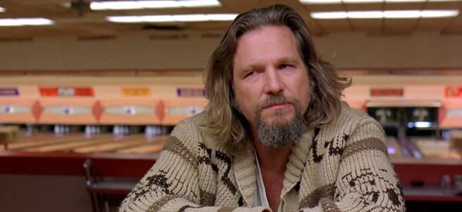 Jeff Bridges como 'El Nota' en 'El gran Lebowski'.