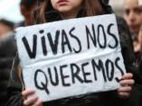 Imagen de archivo de una manifestación contra la violencia machista